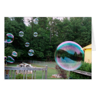 Blew you a Bubble Today Card