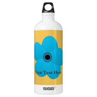 Blight Blue Holiday Season Flower SIGG Traveller 1.0L Water Bottle
