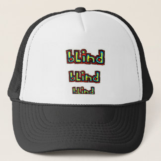 blind brand trucker hat