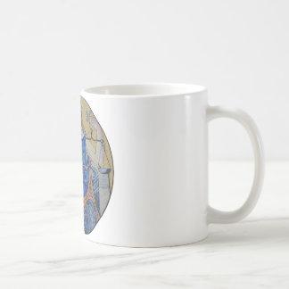 Blind Justice Round Medallion Mosaic Mugs
