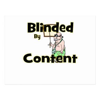 blindedpic postcard