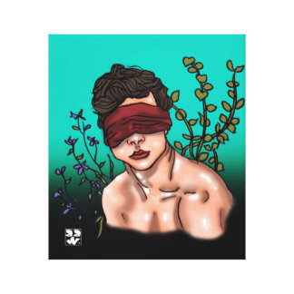 Blindfolded Canvas Print