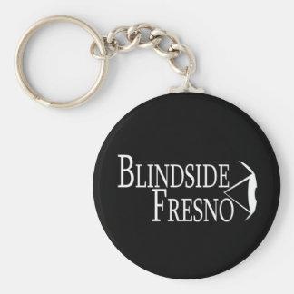 'Blindside Fresno' Basic Round Button Key Ring