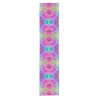 Bling Abstract Pattern Short Table Runner