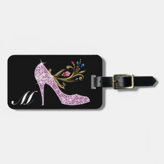 Bling Alphabet Tags - SRF Tags For Bags