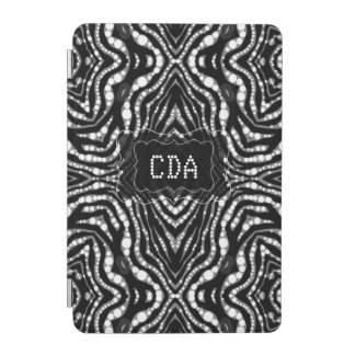 Bling Animal Print Monogram Cases iPad Mini Cover