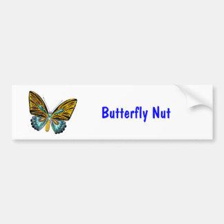Bling Bling Butterfly Bumper Sticker