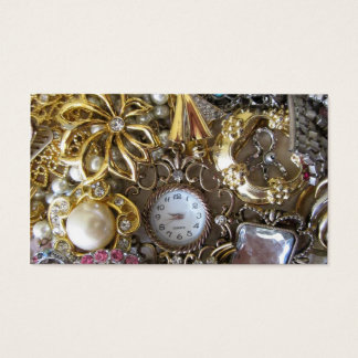 bling bling jewelry collection business card