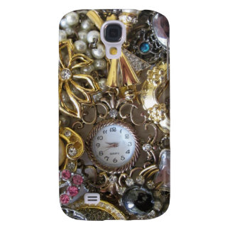 bling bling jewelry collection galaxy s4 cover