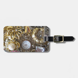 bling bling jewelry collection luggage tag