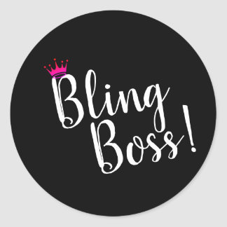 Bling Boss Stickers
