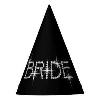 Bling BRIDE! Party Hat