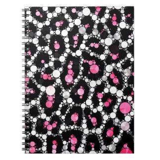 Bling Cheetah Print Notebook