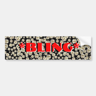 *BLING* Diamonds Bumper Sticker