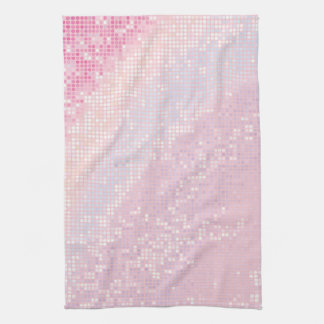 Bling Glitter Girly Pink Glitz Kitchen Dish Towel