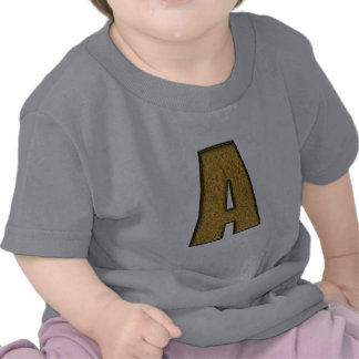 Bling Gold A Tee Shirt