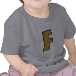 Bling Gold F Tees