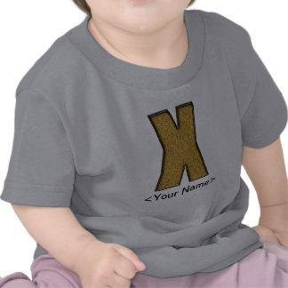 Bling Gold X T Shirt