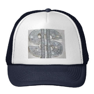 bling mesh hats