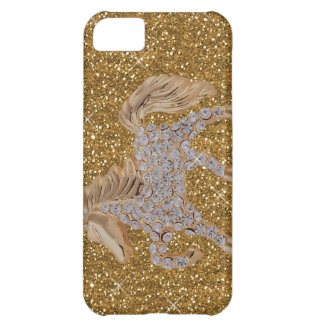 bling horse iPhone 5C case