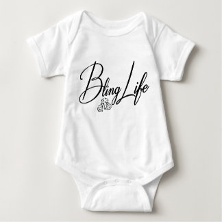 Bling Life Baby Jersey Bodysuit