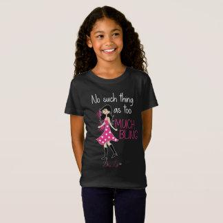 Bling Life Girls' Fine Jersey T-Shirt