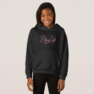 Bling Life Girls' Fleece Pullover Hoodie