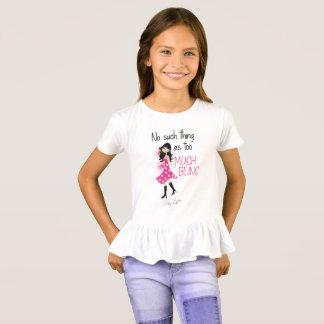 Bling Life Girls' Ruffle T-Shirt