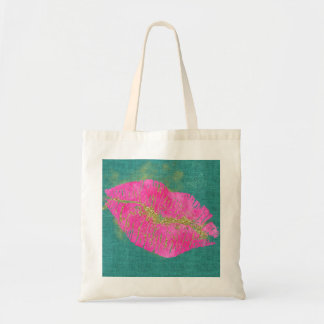 Bling Lips on Small Tote
