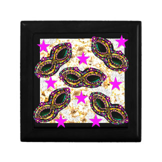BLING MARDI GRAS GIFT BOX