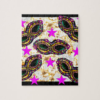 BLING MARDI GRAS JIGSAW PUZZLE