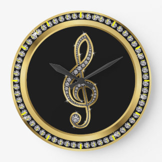 Bling Music Clock - SRF