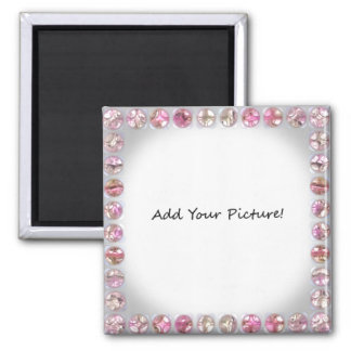 Bling Picture Frame Add your own picture Refrigerator Magnets