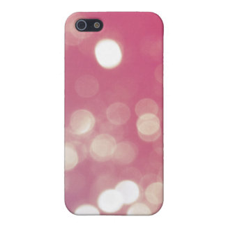 Bling pink lights glitter crystal iPhone 4 case