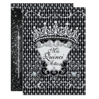 Bling Quinceañera and Sweet 16 Party Invitations