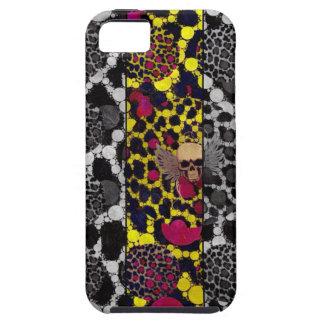 Bling Skulll&bones,cheetah Bling iphone5/5S iPhone 5 Case