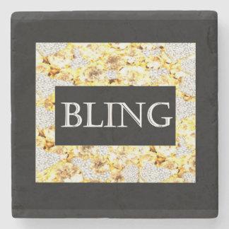 BLING STONE BEVERAGE COASTER