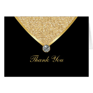 Bling Thank You Cards