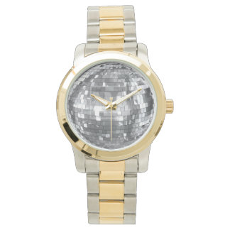 Bling Two-Tone Watch