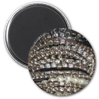 Blingy 6 Cm Round Magnet