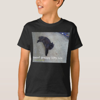 blinky's preppy kitty shirt