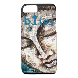 Bliss Buddha Watercolor Art iPhone 7 Cases