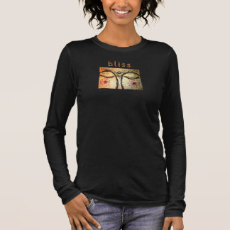 Bliss Golden Buddha Eyes Art Long Sleeve Shirt