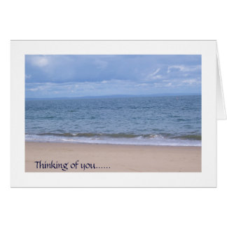 bliss, Thinking of you greeting card miss you misu