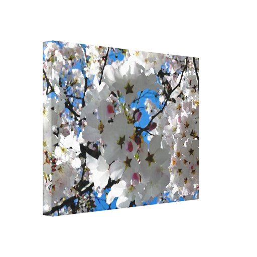 Blissful Blossoms Gallery Wrap Canvas