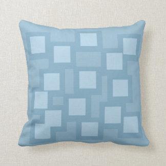 Blissful Blue Pillow/Cushion Vers 1 Squares Cushion