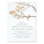 Blissful Branches Wedding Invitation 13 Cm X 18 Cm Invitation Card