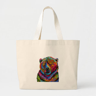 Blissful Wink Large Tote Bag