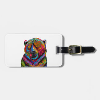 Blissful Wink Luggage Tag