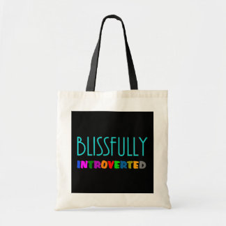Blissfully Introverted Tote Bag